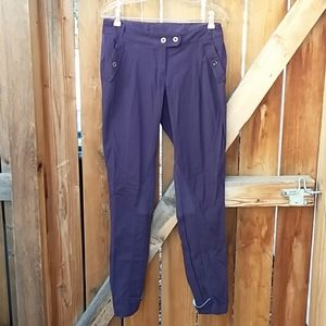 Lululemon purple casual workout pants size 8